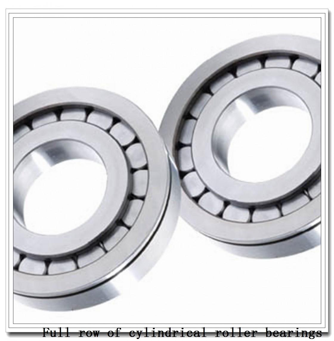 NCF29/710V Full row of cylindrical roller bearings