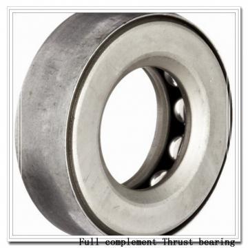 TSX205  Full complement Thrust bearing