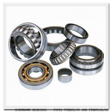 T9250FS-T9250S SCREWDOWN BEARINGS – TYPES TTHDSX/SV AND TTHDFLSX/SV