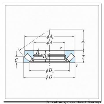 190TTsX940Oa617 screwdown systems thrust Bearings
