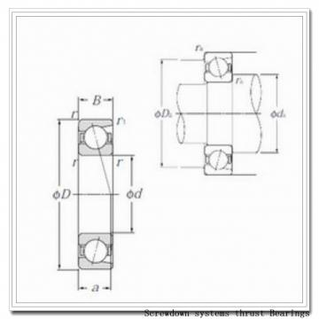 s-4718-a screwdown systems thrust Bearings